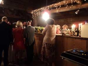 Frägsta Hälsingegård bröllop - Baren