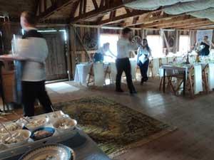 Frägsta Hälsingegård bröllop - Logen