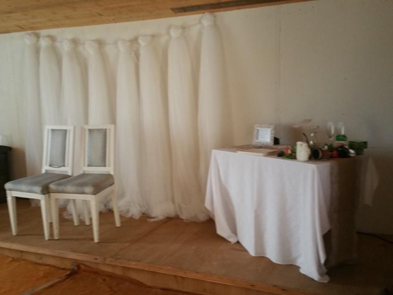 Frägsta Hälsingegård bröllop - Vigselsal vid regn