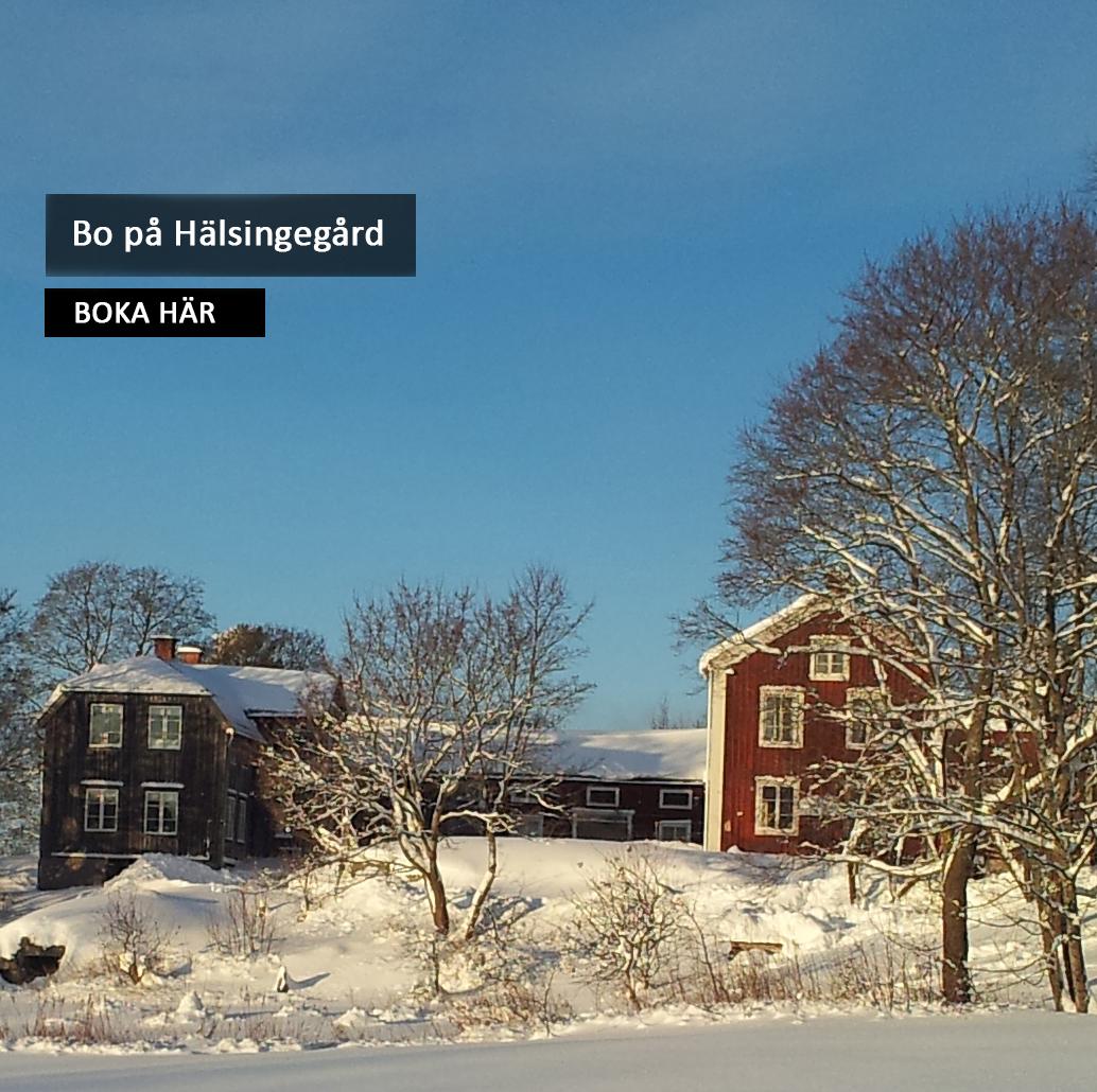 Bo på Hälsingegård Boka Frägsta