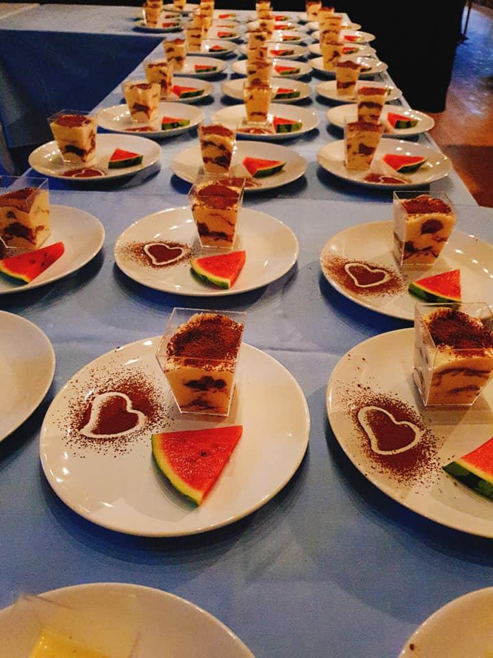 Dessert till fest