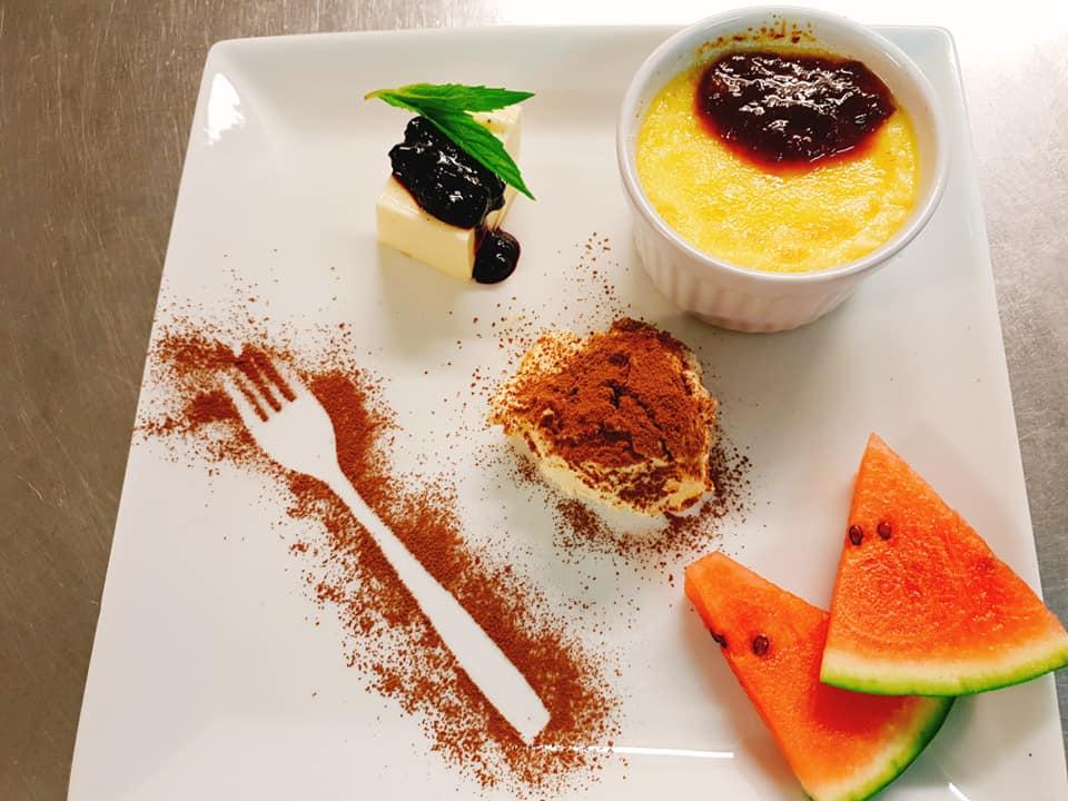 Dessert tallrik