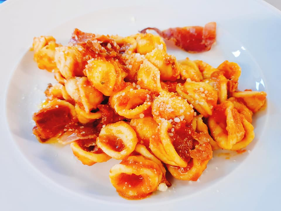 Orecchiette all'Amatriciana